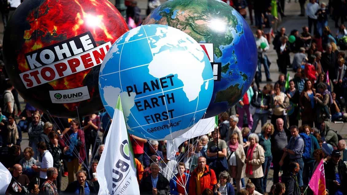 Protest am Wochenende vor dem G20-Gipfel in Hamburg.