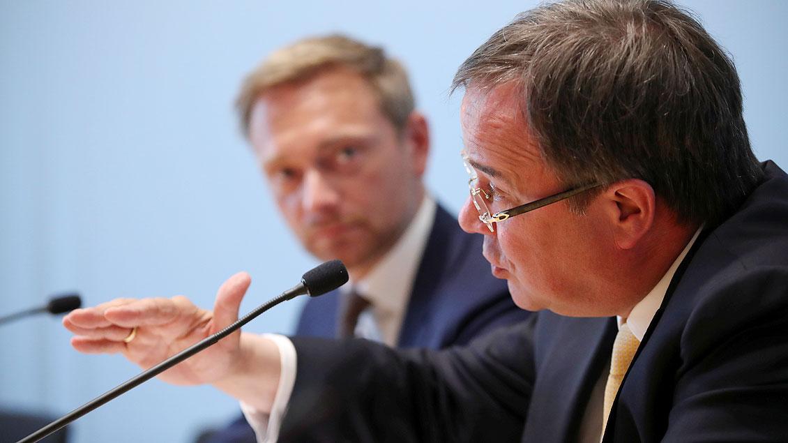 Armin Laschet mit Christian Lindner