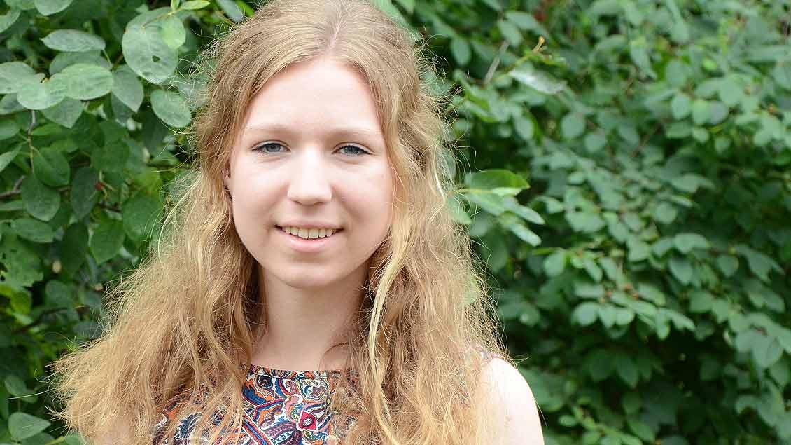 Franziska Knappheide aus Emsdetten verbringt als Freiwillige des Bistums Münster ein Jahr in Ghana. An einer Schule wird die 18-Jährige Englisch und Mathe unterrichten. | Foto: Gudrun Niewöhner (pbm)