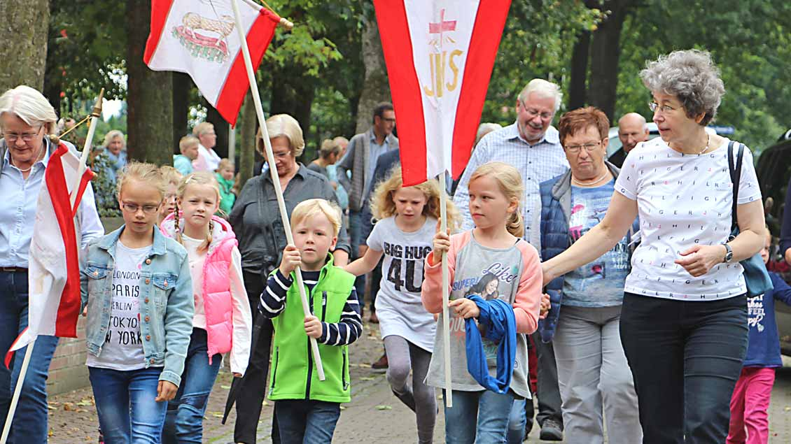 Die Wallfahrt für Großeltern und Enkel nach Bethen gibt es seit 2010.