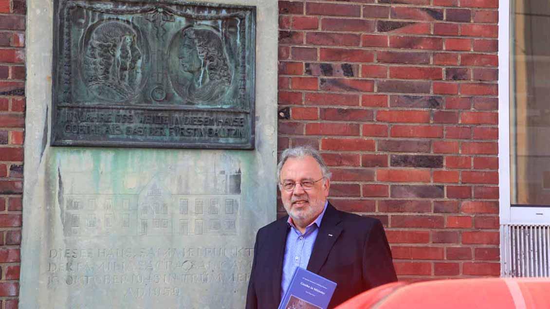 Goethe in Münster: Buch von Karl Hagemann