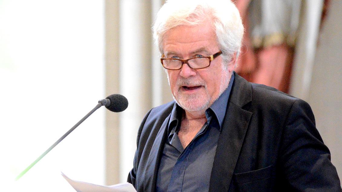 Der Mannheimer Professor Jochen Hörisch referierte im St.-Paulus-Dom in Münster über die Macht der Sprache.