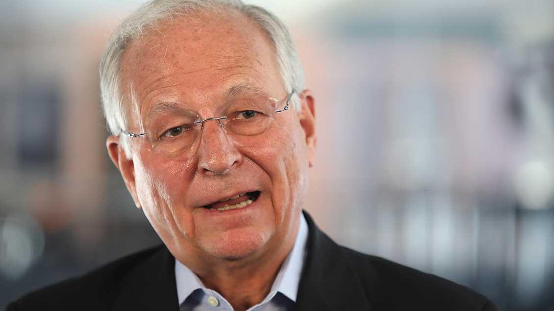 Wolfgang Ischinger, hier im Mai 2017. Foto: Reuters