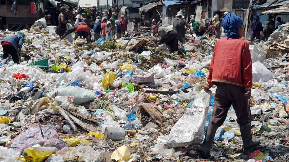 """Bei den """"Müllmenschen"""" von Cebu-City auf den Philippinen. Foto: Michael Bönte"""