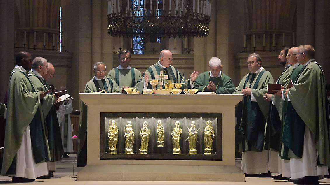 Messe zum Weltfriedenstreffen