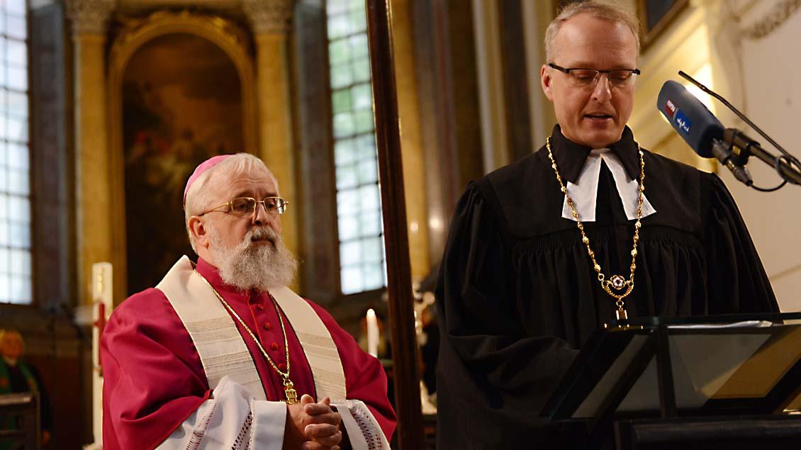 Bischof Feige: In Ökumene weitergehen
