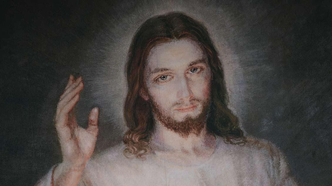 Welches Bild machen wir uns von Jesus? Dieses zeigt einen Ausschnitt einer Altarbühne beim Weltjugendtag 2016 in Krakau.