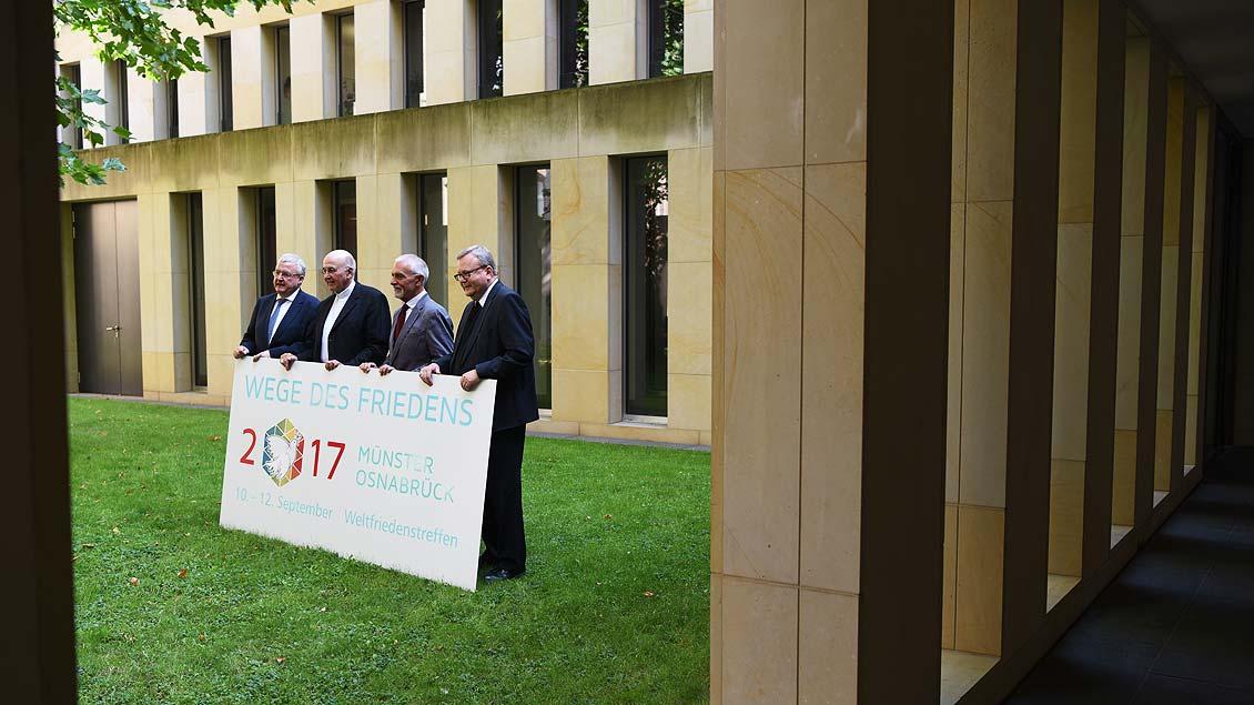 Weltfriedenstreffen in Münster und Osnabrück