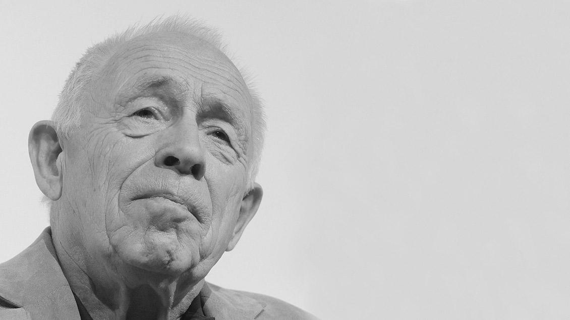 Heiner Geißler ist im Alter von 87 Jahren gestorben. Das Bild zeigt ihn 2011 beim 33. Evangelischen Kirchentag in Dresden.