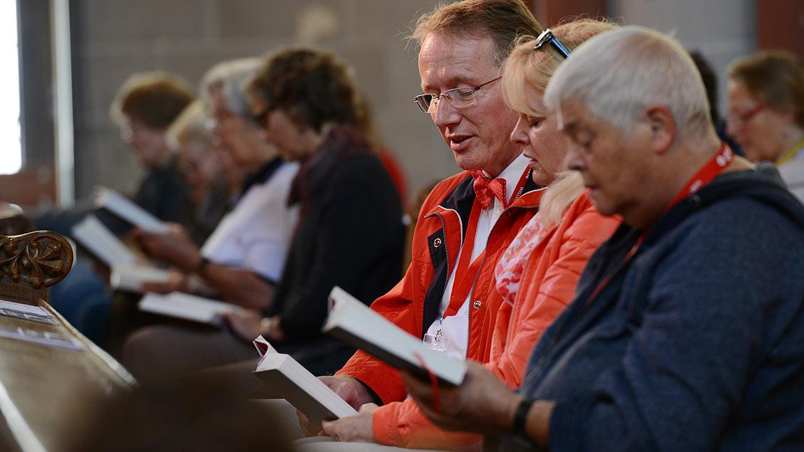 Die beliebtesten Kirchenlieder Foto: Michael Bönte
