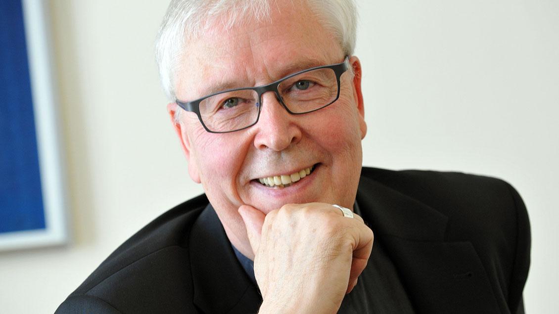 Hildesheimer Bischof Trelle im Ruhestand