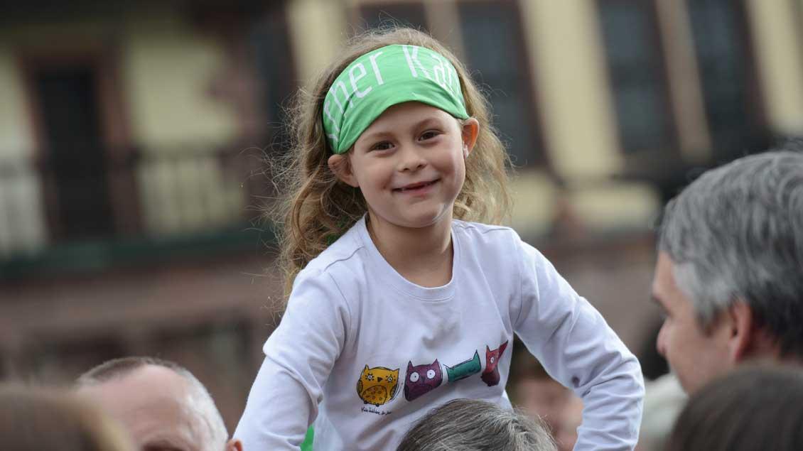 Vom Kind aus denken? Unter diesem Thema steht die Bundesdelegiertenversammlung des Familienbundes der Katholiken, die vom 20. bis 22. Oktober in Münster tagt. Foto: Michael Bönte