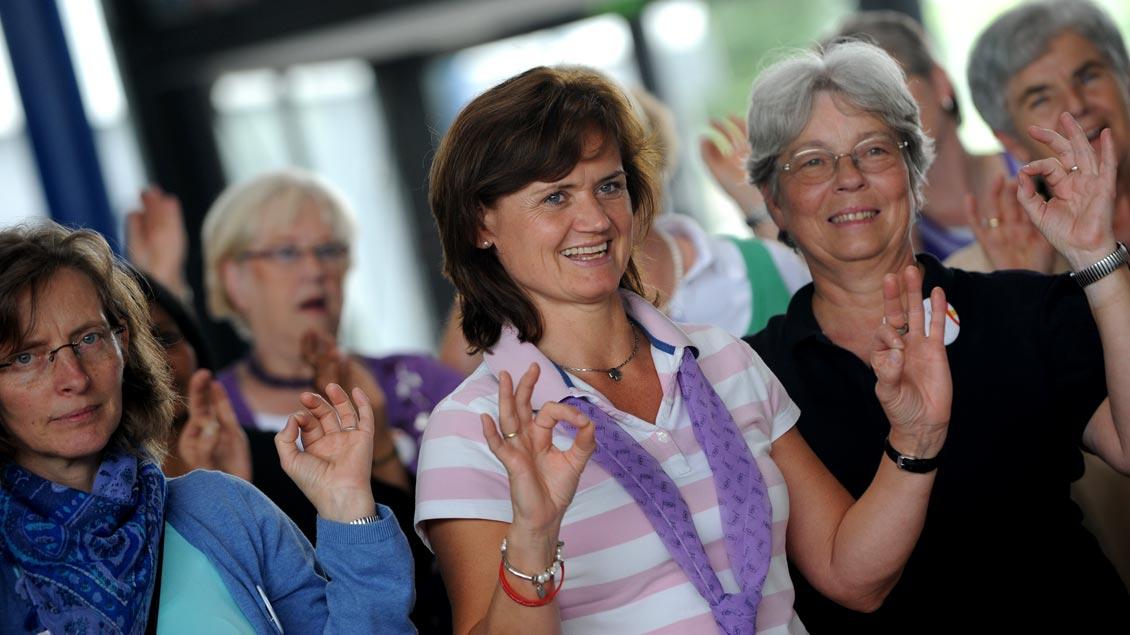 """Die Kampagne """"Frauen.Macht.Zukunft"""" habe das Selbstbewusstsein des Verbandes gestärkt, sagt die KFD."""