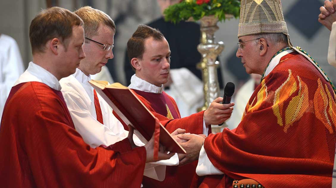 Priesterweihe in Münster.