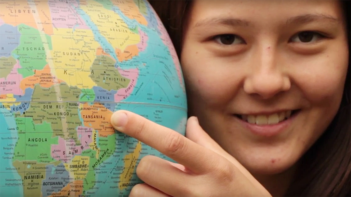 Aylin Korn geht für ein Jahr nach Tansania.
