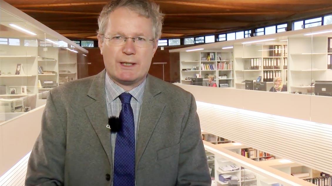 Kirche+Leben-Chefredakteur Christof Haverkamp zum Wechsel von Wilfried Theising.