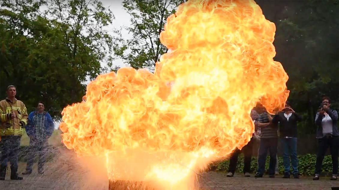 Wachsbrand