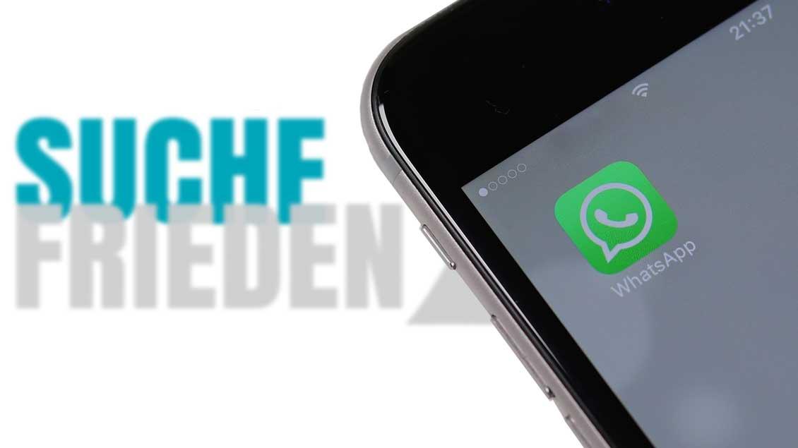 WhatsApp zum Katholikentag.