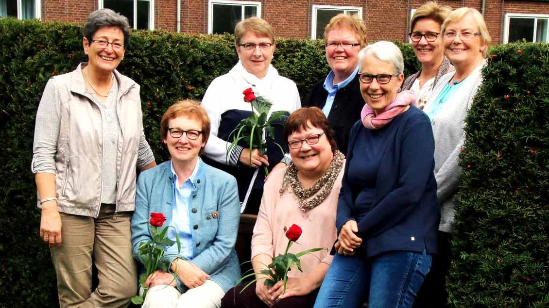 Der erweiterte Vorstand der Caritas-Konferenzen Deutschland im Bistum Münster