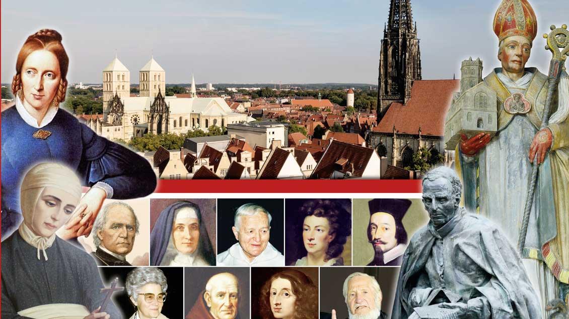 """Buch """"Botschafter des Himmels. Christliches Glaubenszeugnis in Münster"""""""