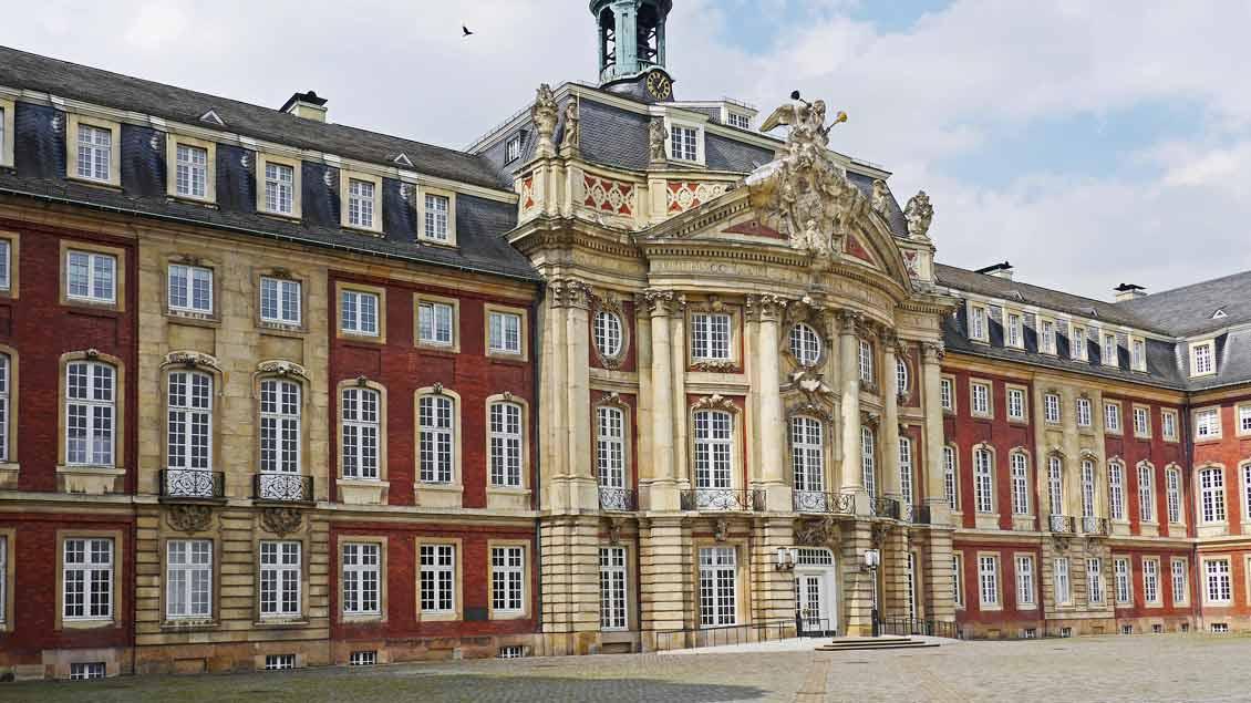 Das Schloss in Münster ist Hauptsitz der Universität. Foto: Erich Westendarp, pixelio.de