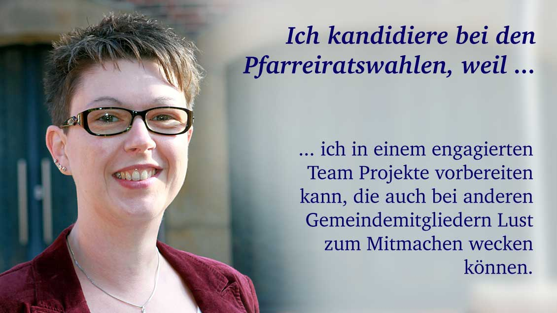 Mareike Gerundt (35) aus Werne, Diplom-Theologin.