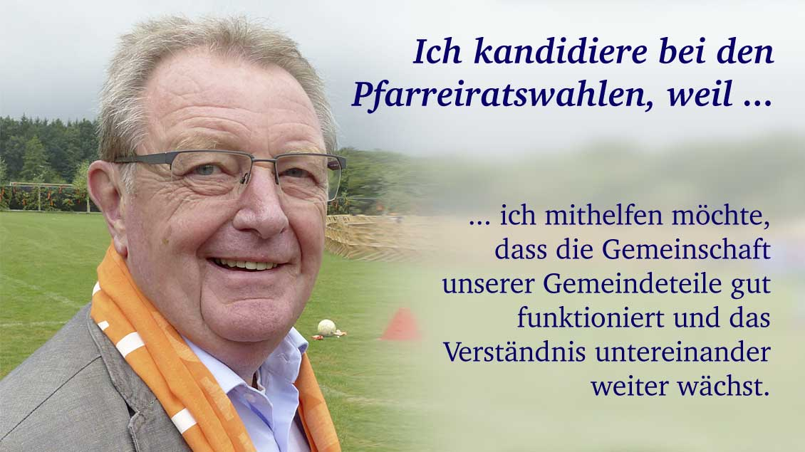 Klaus Hanschen (69) aus Wilhelmshaven, Rentner.