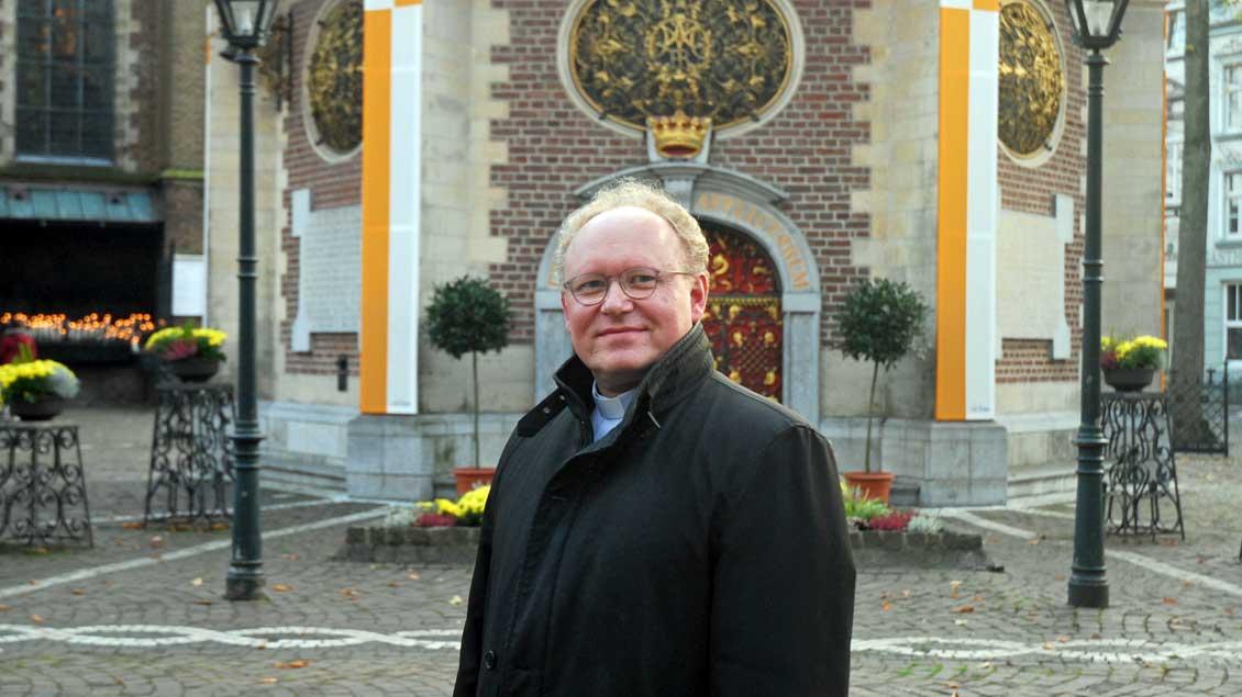 Gregor Kauling wird Wallfahrtsrektor.