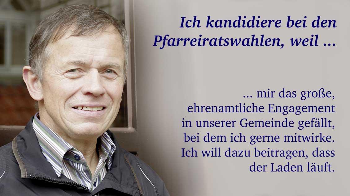 Peter Licher (64) aus Ostbevern, Programmierer.