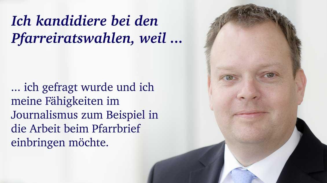 Norbert Neß (45) aus Hamminkeln-Dingden, Leitender Angestellter.