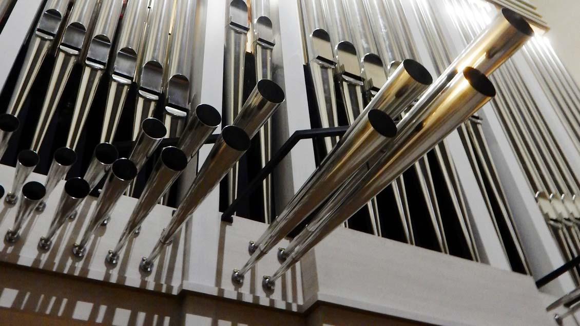 Die neue Orgel in Freckenhorst.