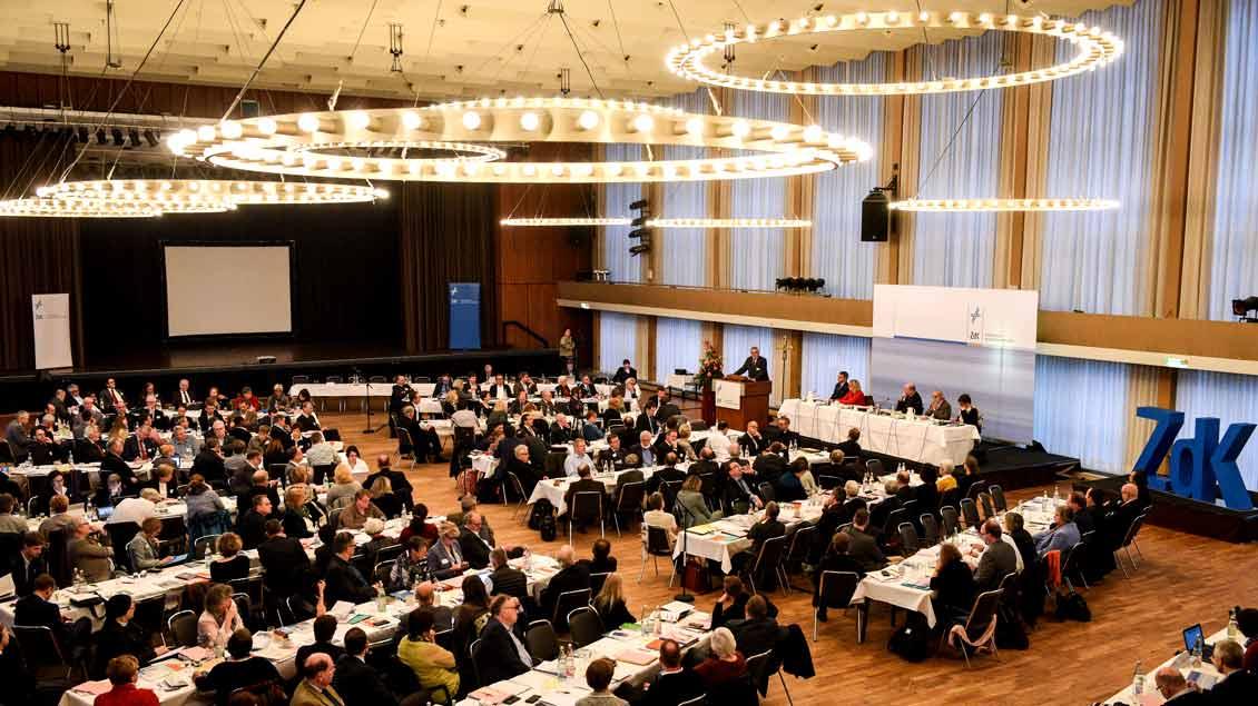 Die Vollversammlung des Zentralkomitees der deutschen Katholiken (ZdK) tagt zurzeit in Bonn-Bad Godesberg.