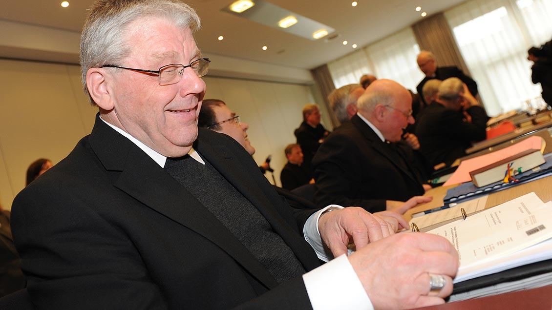 Erste Teilnahme bei einer Frühjahrsvollversammlung der Deutschen Bischofskonferenz 2011 in Paterborn. | Foto: Michael Bönte