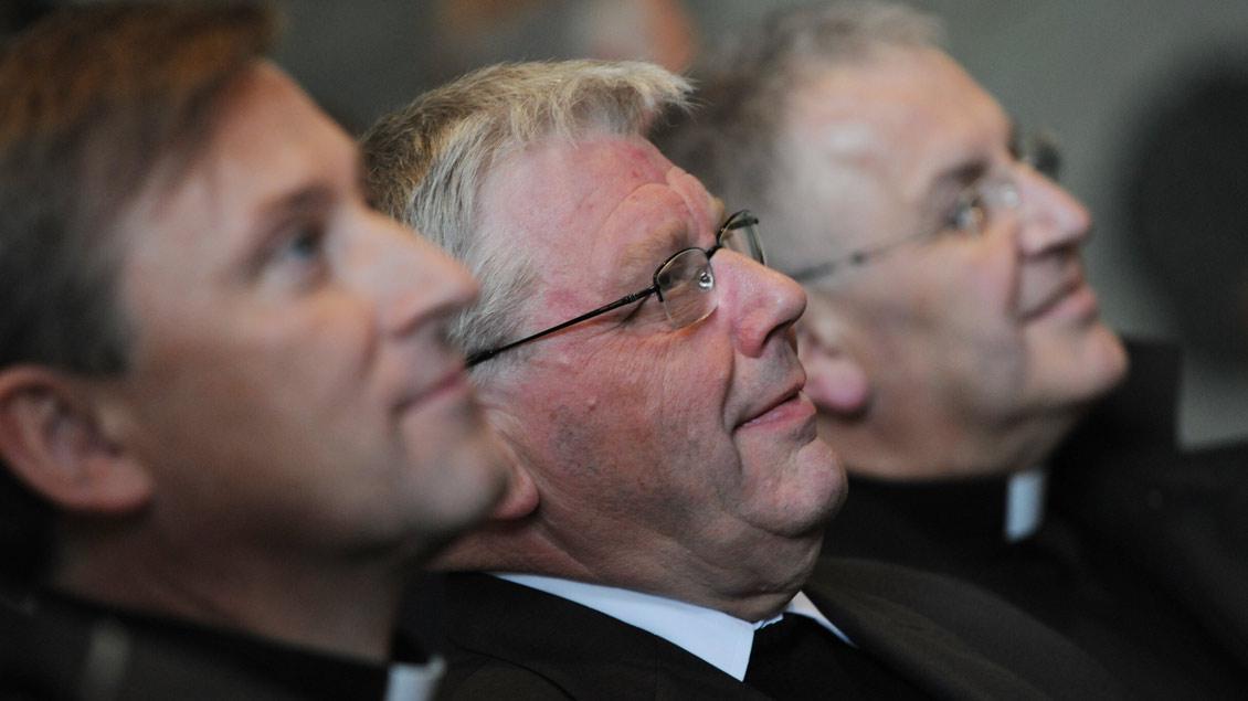 Dankgebet für die Ernennung zum Weihbischof: Dieter Geerlings im St.-Paulus-Dom. | Foto: Michael Bönte