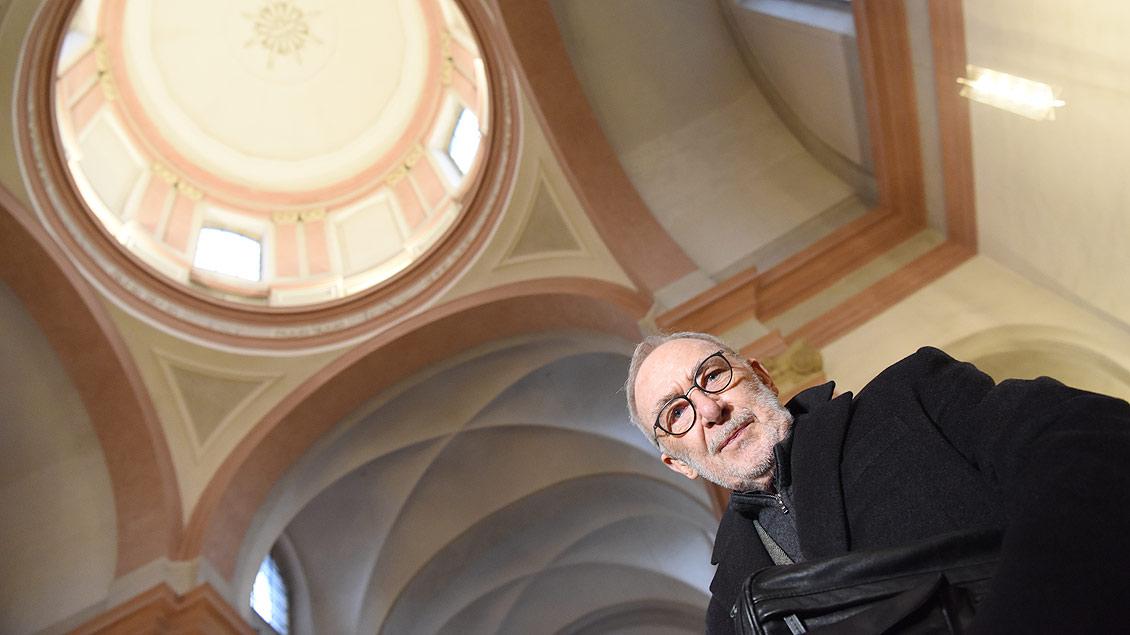 Er habe ein solches Projekt schon seit etwa zehn Jahren im Hinterkopf, hat Gerhard Richter bei der Vorstellung seiner Planungen für eine Kunst-Installation in der profanierten münsterschen Dominikanerkirche verraten. Der international erfolgreiche Küns