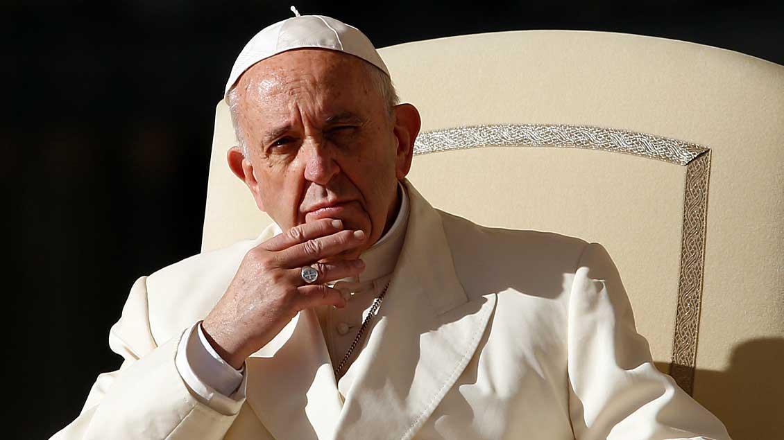 Papst Franziskus.