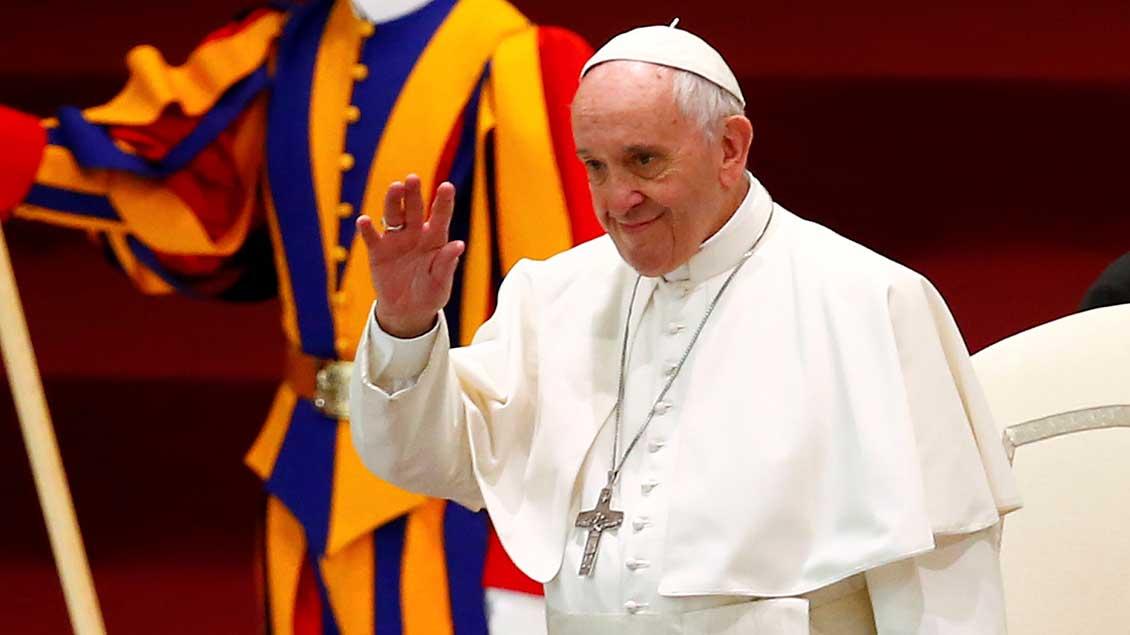 Papst Franziskus. Foto: KNA