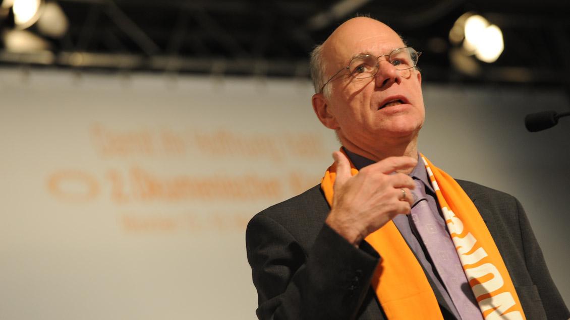 """Der früherer Bundestagspräsident Norbert Lammert wurde für seine """"Wortgewalt"""" als Politiker und Prediger ausgezeichnet."""