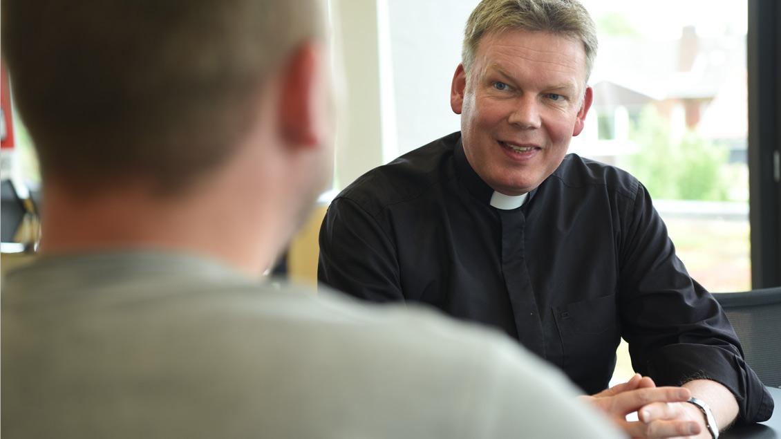 Hartmut Niehues leitet als Regens das Priesterseminar in Münster und ist zudem Vorsitzender der Deutschen Regentenkonferenz.