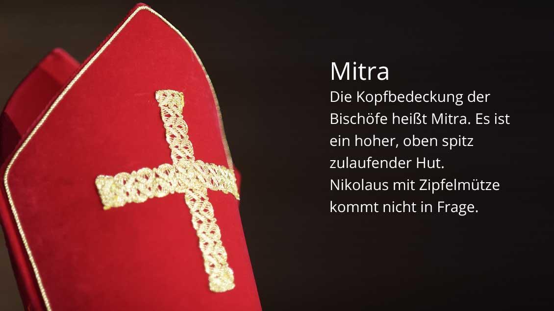 Die Mitra. | Foto: Michael Bönte