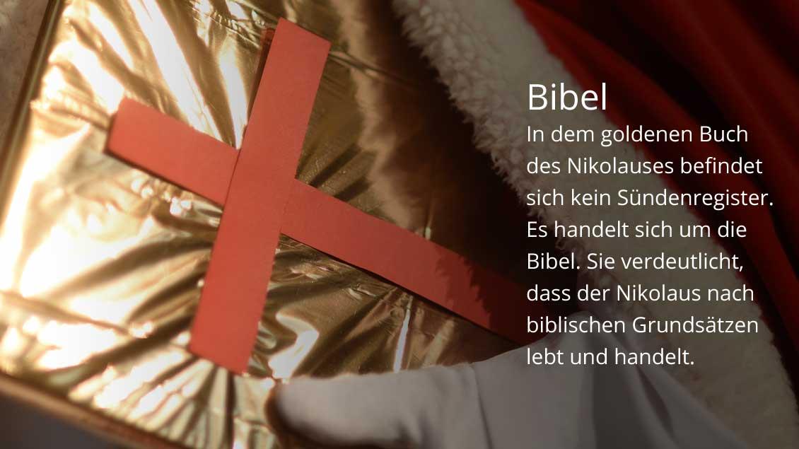 Die Bibel. | Foto: Michael Bönte
