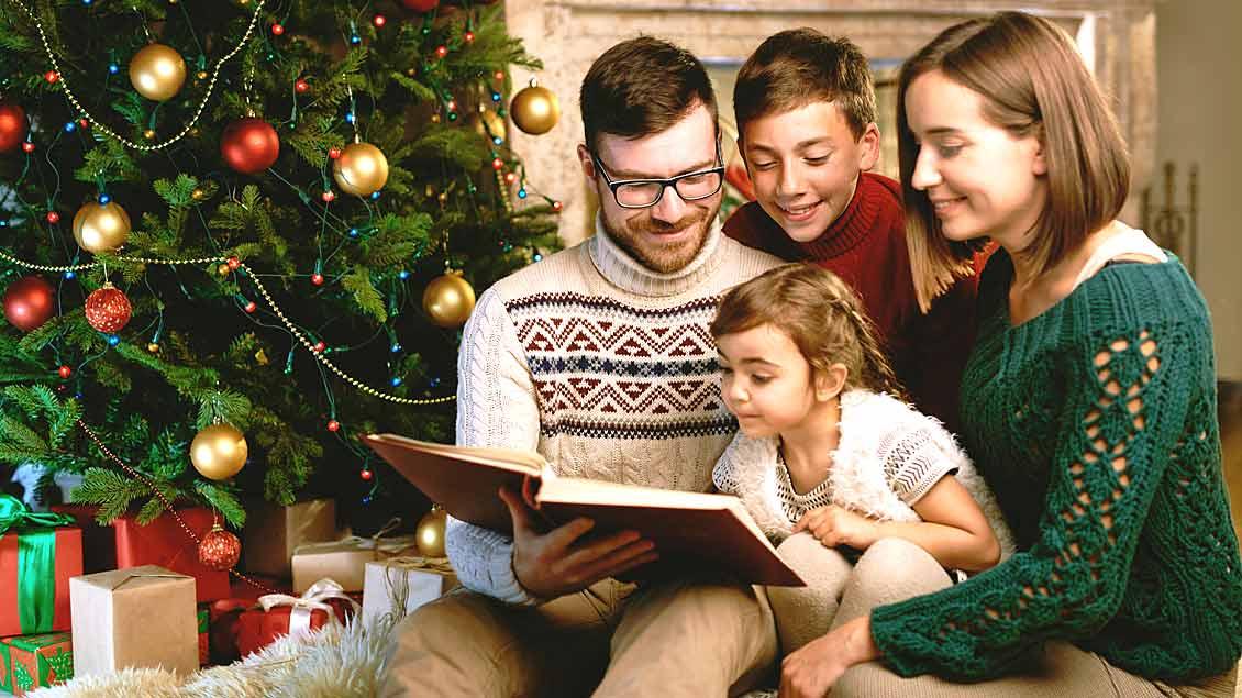 Entspannte Weihnachtstage mit der Familie.