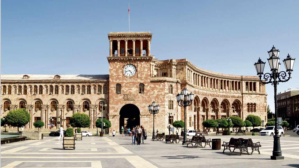"""Jerevan, die Hauptstadt Armeniens, ist ein neues Ziel im Reisekatalog von """"Emmaus-Reisen""""."""