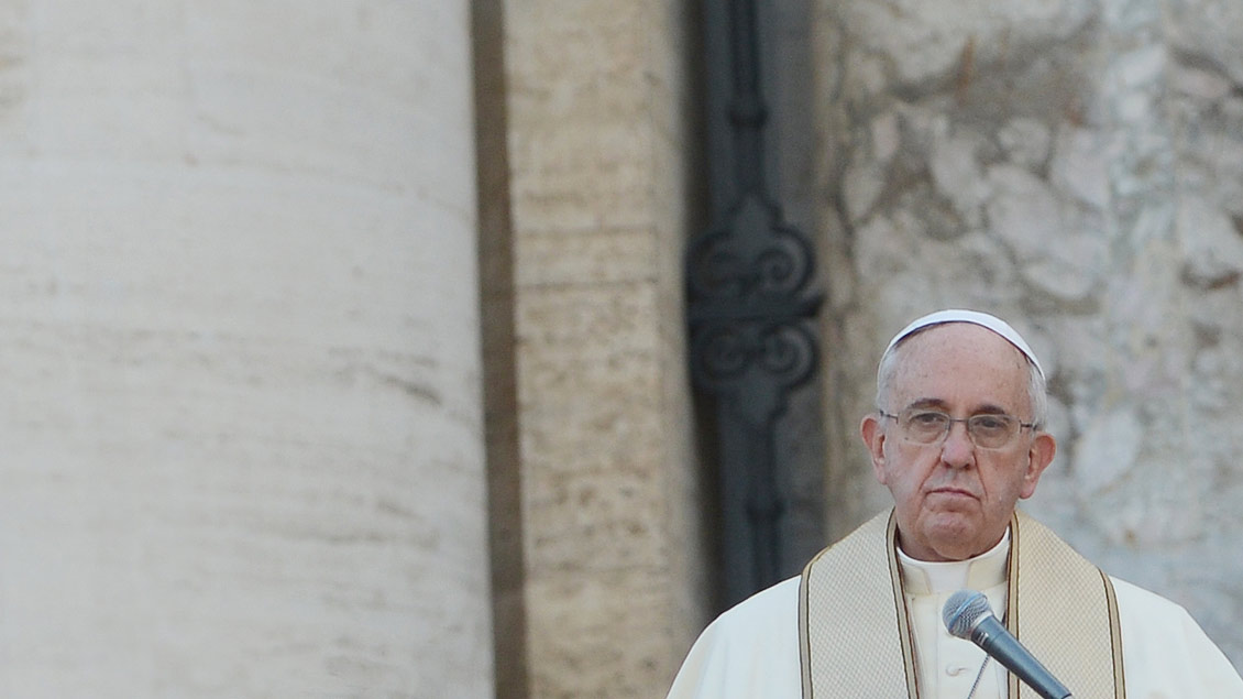 Papst Franziskus Foto: Michael Bönte