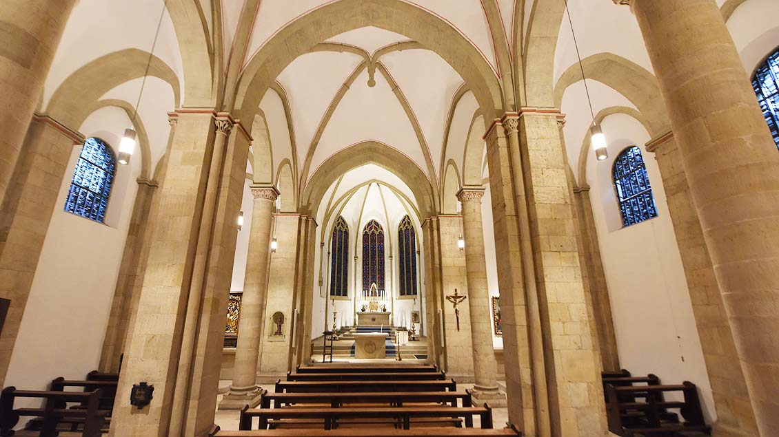 St. Servatii in Münster nach der Renovierung.