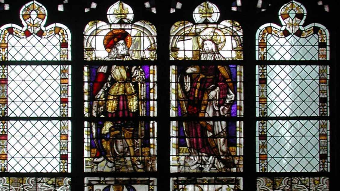 Kirche leben prachtvolle kirchenfenster sind gl cksfall for Fenster xanten