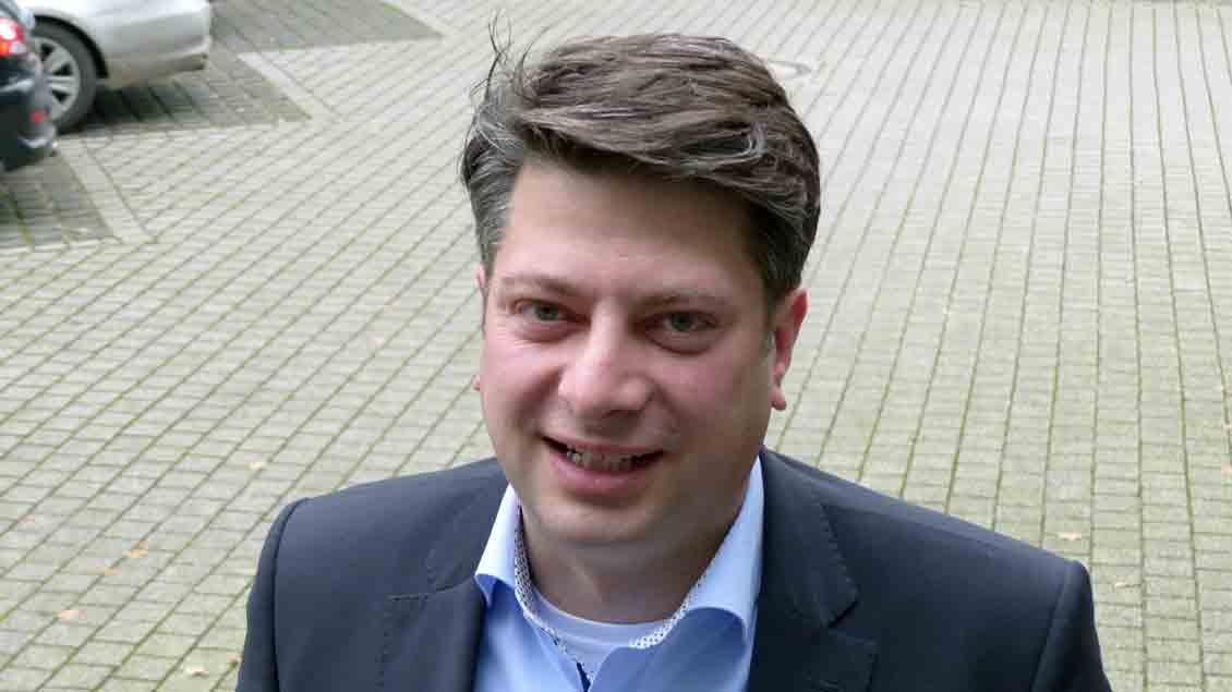 Als katholischer Politiker sitzt Christian Calderone (CDU) im niedersächsischen Landtag. Er lädt dort zu einem Gebetsfrühstück für alle Abgeordnete ein. Foto: Franz Josef Scheeben