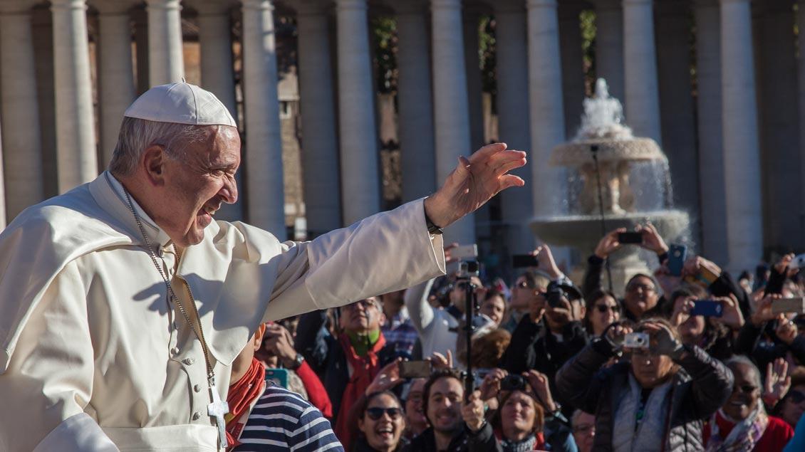 Papst ruft am Weltflüchtlingstag zur Überwindung von Ängsten auf