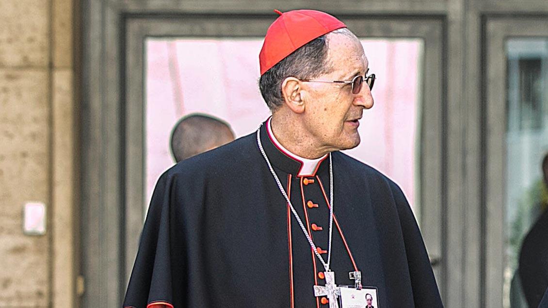 Kardinal Beniamino Stella, Präfekt der Klerus-Kongregation im Vatikan.