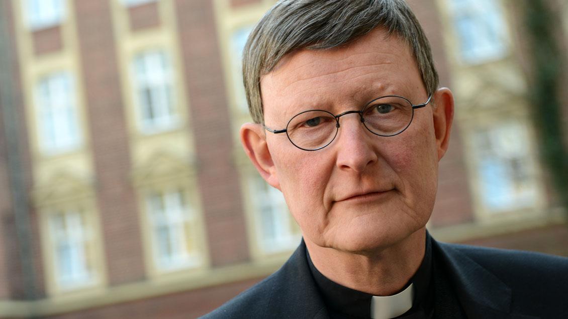 Der Kölner Kardinal Rainer Maria Woelki. Foto: Michael Bönte